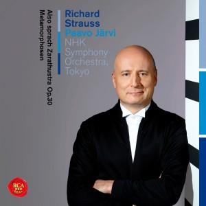 パーヴォ・ヤルヴィ&NHK交響楽団/R・シュトラウス:ツァラトゥストラはかく語りき、メタモルフォーゼン(SICC-10219)